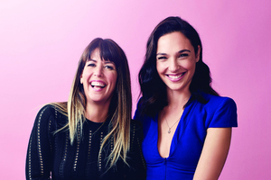 Gal Gadot And Patty Jenkins 2017