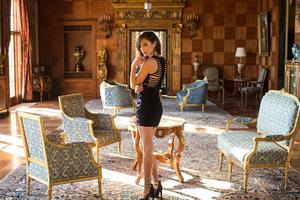 Gal Gadot In Black Dress Photoshoot