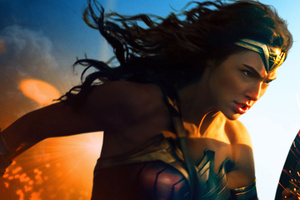 Gal Gadot In Wonder Woman 2017