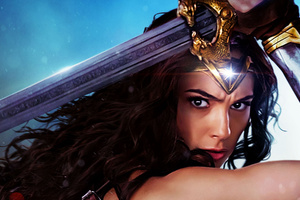 Gal Gadot Wonder Woman Movie 2017 Wallpaper