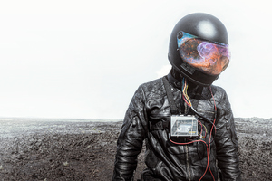 Galaxy Helmet Guy