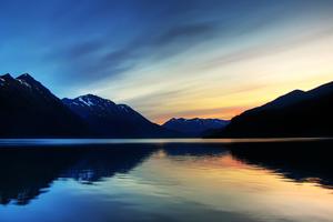 Galcier Bay At Alaska Wallpaper