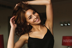 Galina Dubenenko Model Smiling Wallpaper