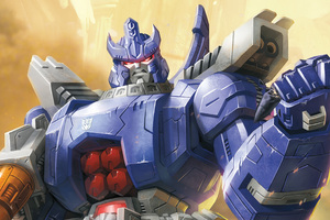 Galvatron In Transformers Titans Return