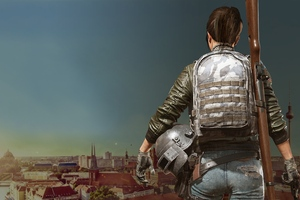 Game Girl Pubg 4k Wallpaper
