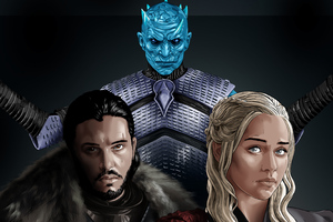 Game Of Thrones 4k Art