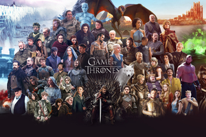 Game Of Thrones All Cast Wallpaper