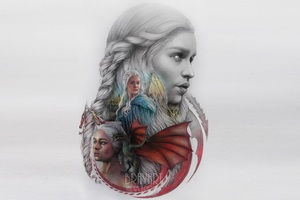 Game Of Thrones Emilia Clarke Artwork
