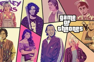 Game Of Thrones Poster Like GTA 5 Wallpaper