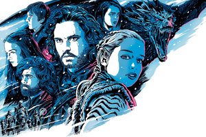 Game Of Thrones Season 8 Illustration