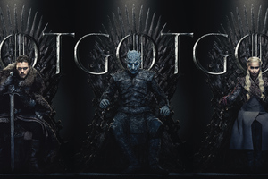Game Of Thrones Season 8 Poster 2019 Wallpaper