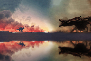 Game Of Thrones War Has Started Artwork 4k