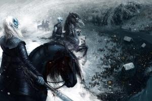 Game Of Thrones White Walker Artwork Wallpaper