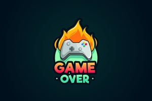 Game Over Minimalist