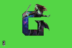 Gamora 5k Art Wallpaper