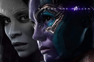 Gamora And Nebula In Avengers Endgame 2019