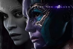 Gamora And Nebula In Avengers Endgame 2019 Wallpaper