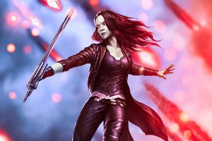 Gamora Daugther Of Thanos Guardians Of The Galaxy 5k