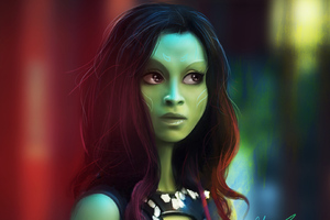 Gamora Fan Art Wallpaper