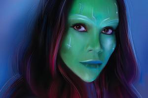 Gamora Fanart