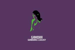 Gamora Simple Art