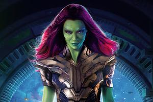 Gamora What If 5k Wallpaper