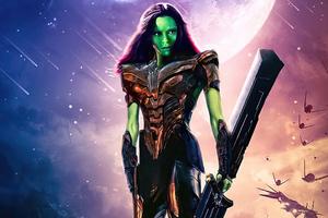 Gamora What If Wallpaper