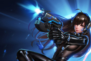 Gantz Dva Overwatch Wallpaper