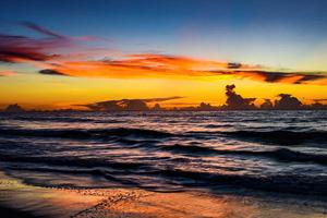 Garden City Beach Sunset 5k Wallpaper