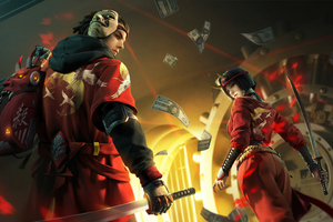 Garena Free Fire Shinobi And Kunoichi