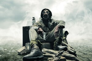 Gas Mask Soldier Apocalypse Wallpaper