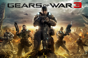 Gears Of War 3 4k Wallpaper