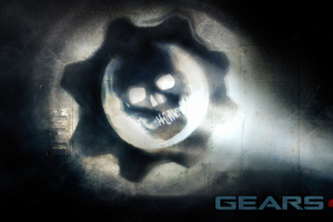 Gears Of War 4 Logo Wallpaper
