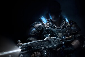 Gears of War 4 Protangoist Game Wallpaper