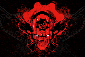 Gears Of War 4 Skull Wallpaper