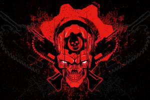 Gears Of War 4 Skull