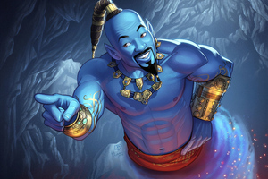 Genie Will Smith Art Wallpaper