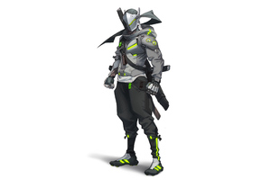 Genji Overwatch 2 Wallpaper