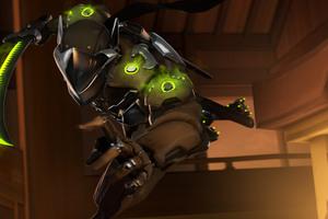 Genji Overwatch Arts Wallpaper