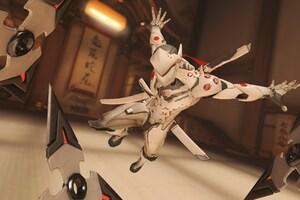 Genji Overwatch Gameplay Wallpaper