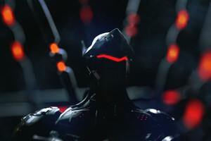 Genji Overwatch Neon Artwork