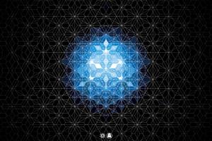 Geometry Angels 4k Wallpaper
