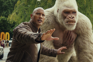 George And Davis Okoye In Rampage