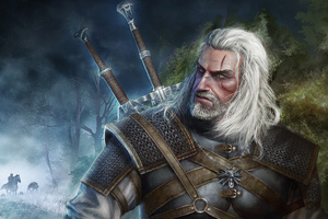 Geralt Of Rivia The Witcher 3