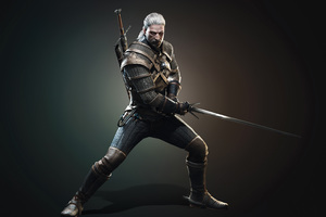 Geralt Of Rivia The Witcher 3 Wild Hunt 4k