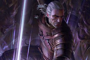 Geralt Yrden Gwent The Witcher Card Game Wallpaper