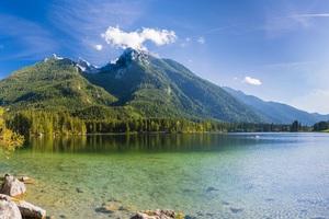 Germany Mountains Lake Scenery Hintersee 8k Wallpaper