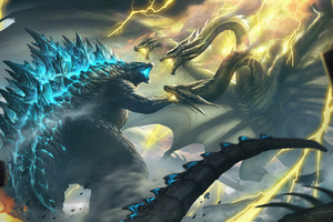Ghidorah Godzilla King Of The Monsters 4k