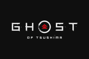 Ghost Of Tsushima Logo 4k