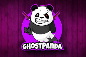 Ghost Panda 4k Wallpaper